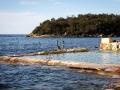 balade manly piscine dans la mer