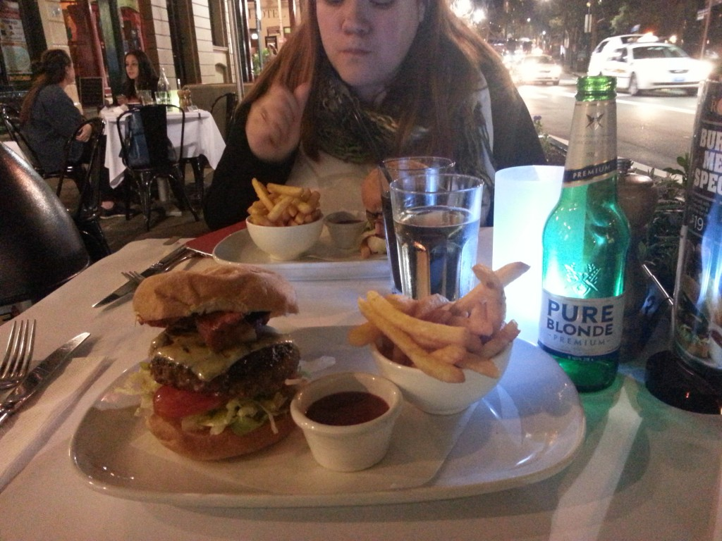 2-enorme burger