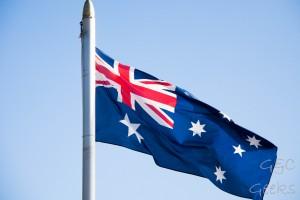 drapeau australien watson beach