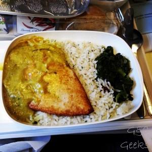 poulet curry plateau repas 1