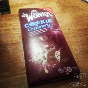 L'appel du marketing a été trop fort ... non mais du chocolat Willy Wonka, quoi !