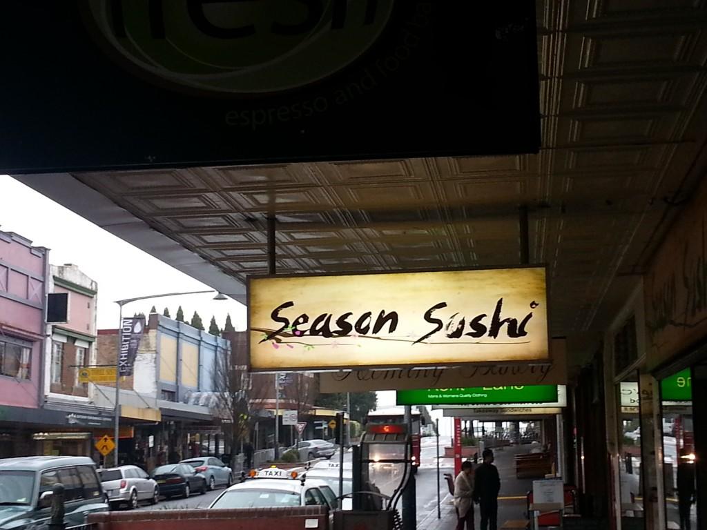 4-panneau season sushis