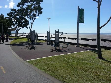 6-équipement de sport sur le bord de mer de cairns