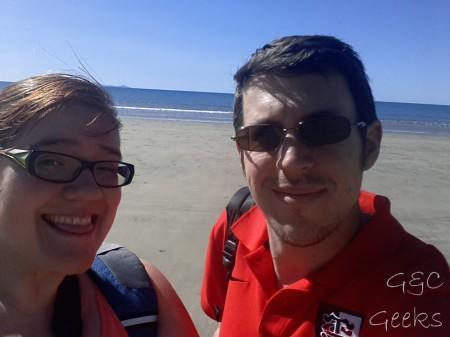 bien que ce soit les vacances scolaires, il n'y a personne sur cette jolie plage abandonnée !