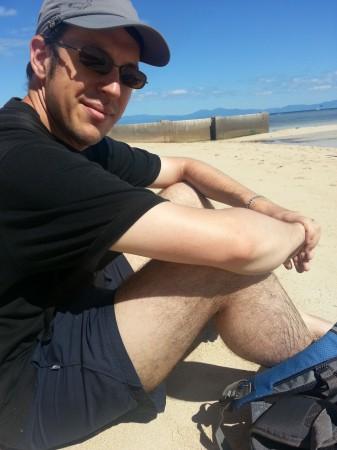 7-sur la plage avec guillaume