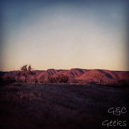 2-coucher de soleil sur kings canyon