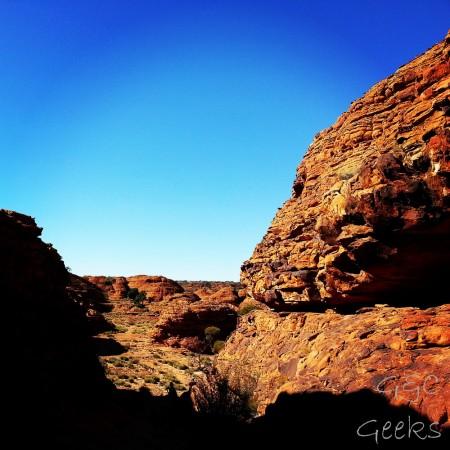 3-désert de roche kings canyon