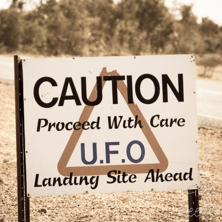 5-caution ufo landing site