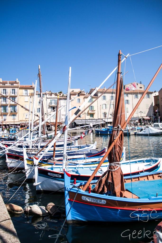 S17 port St Tropez
