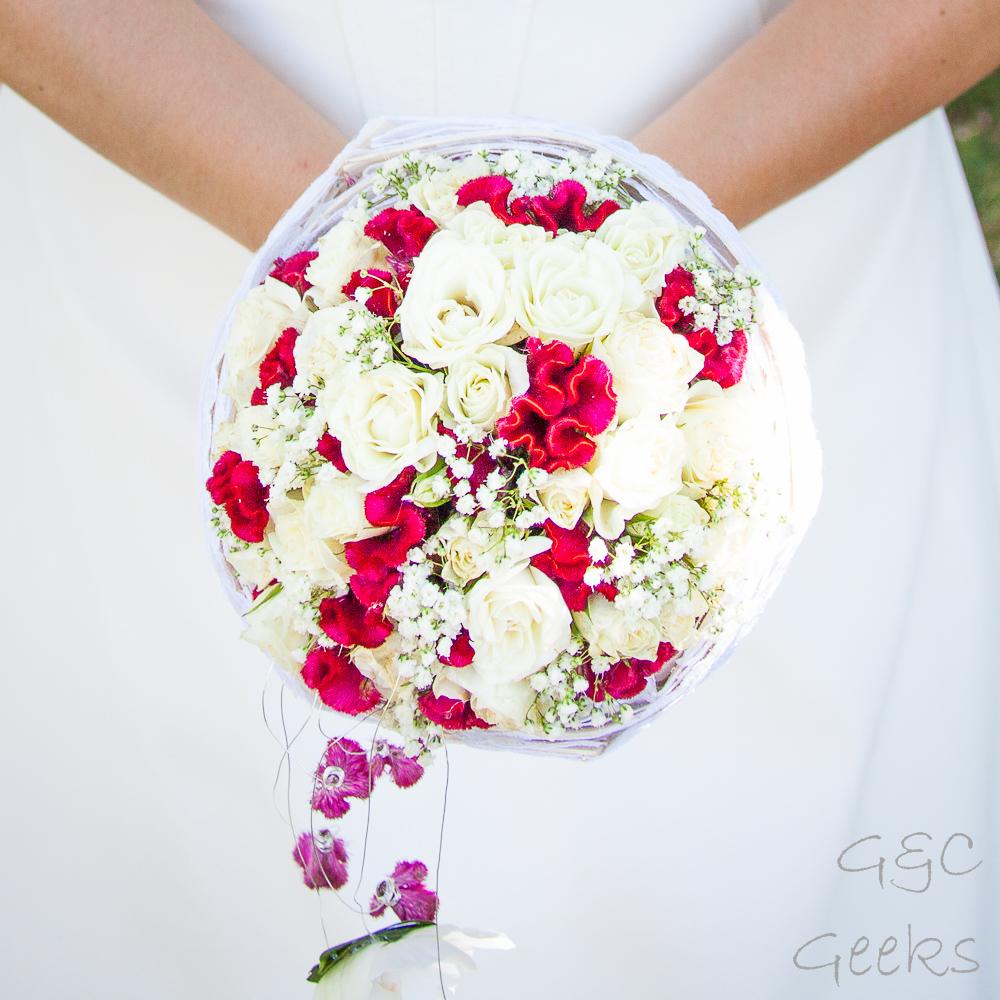 s28 bouquet de mariée