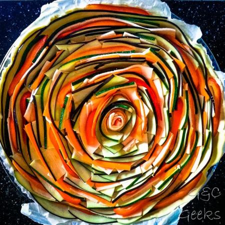 tarte en spirale
