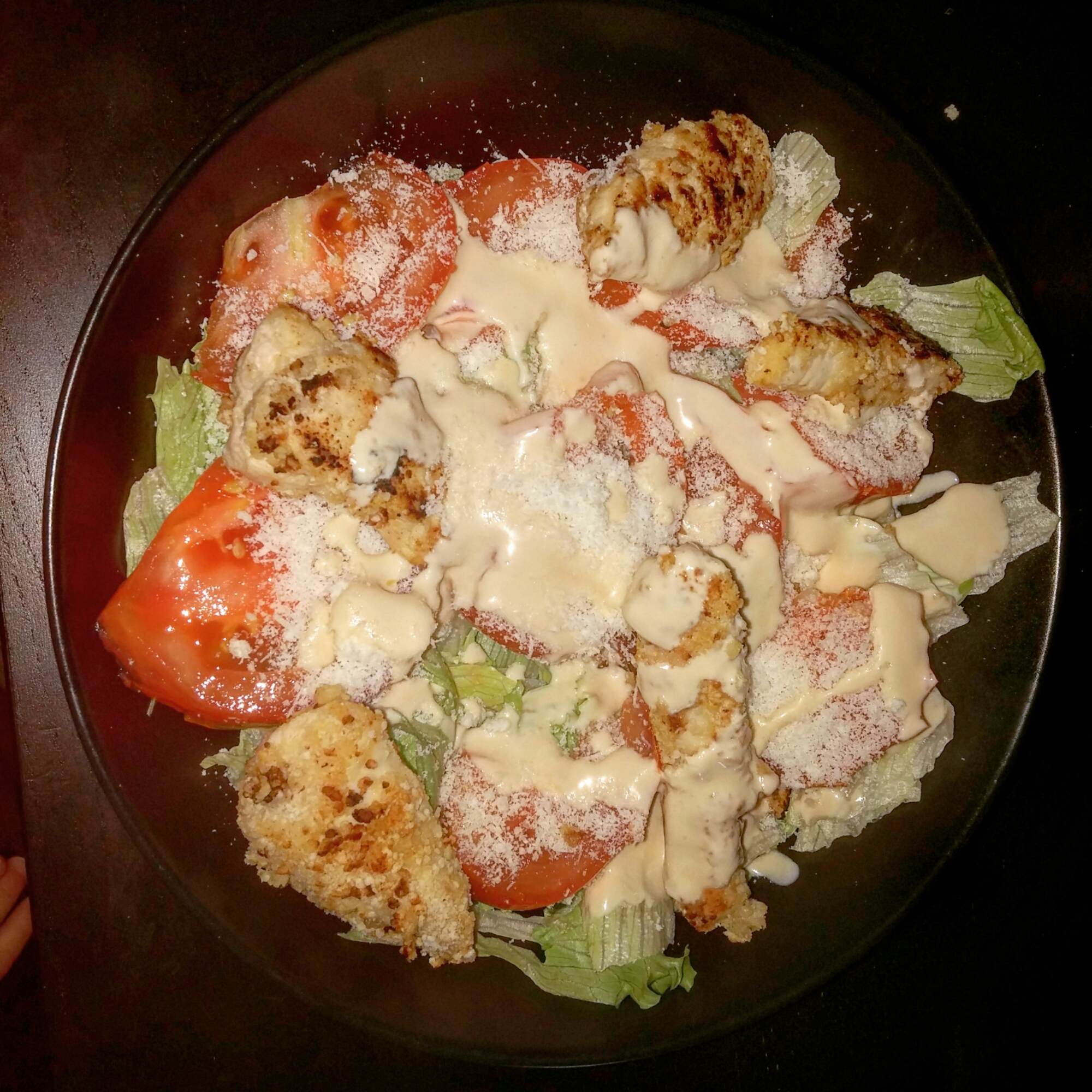 Salade Caesar Weight Watchers 9SP