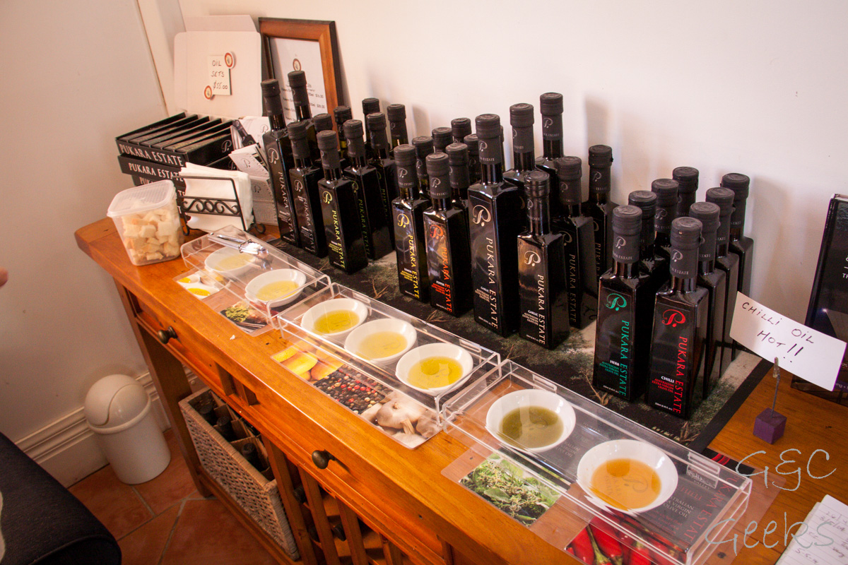 degustation d'huiles d'olives tintillate estates