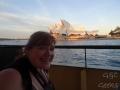 sur le ferry opera house carole