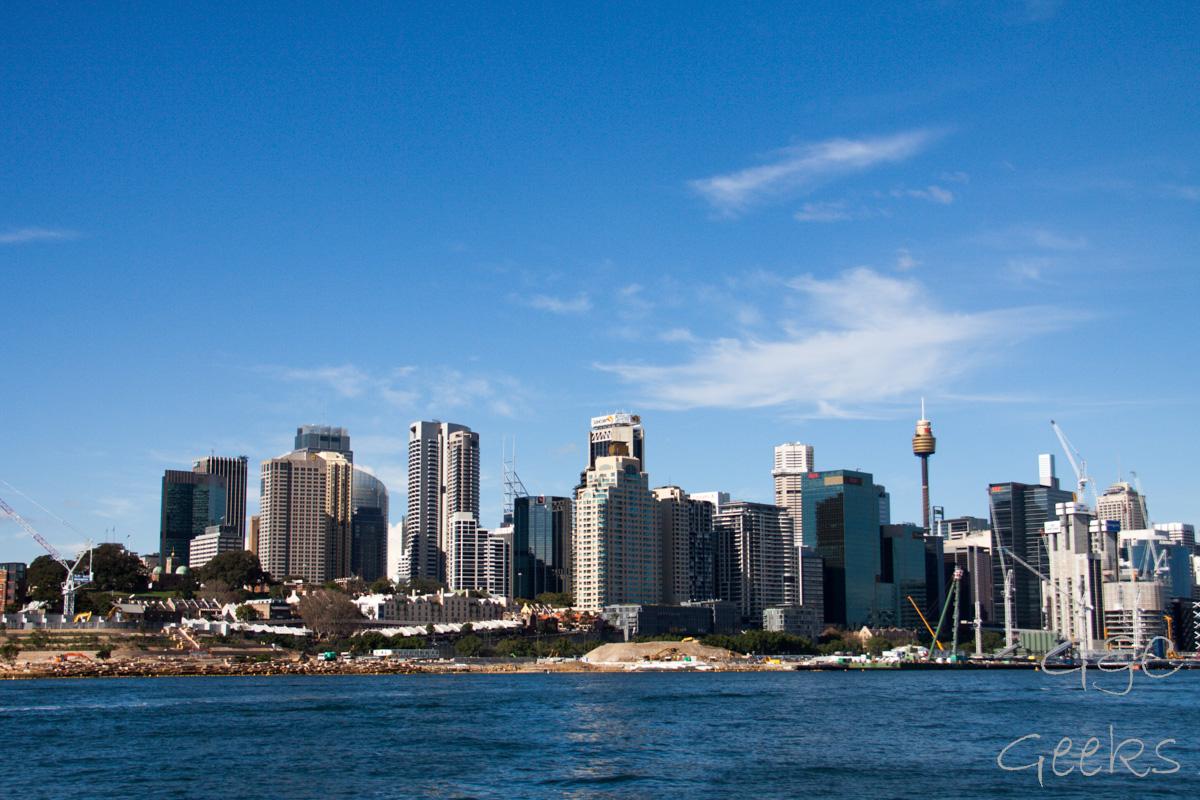 depuis ferry cbd sydney