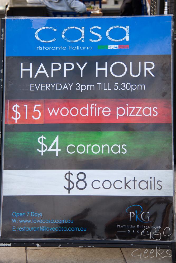 happy hour sydney