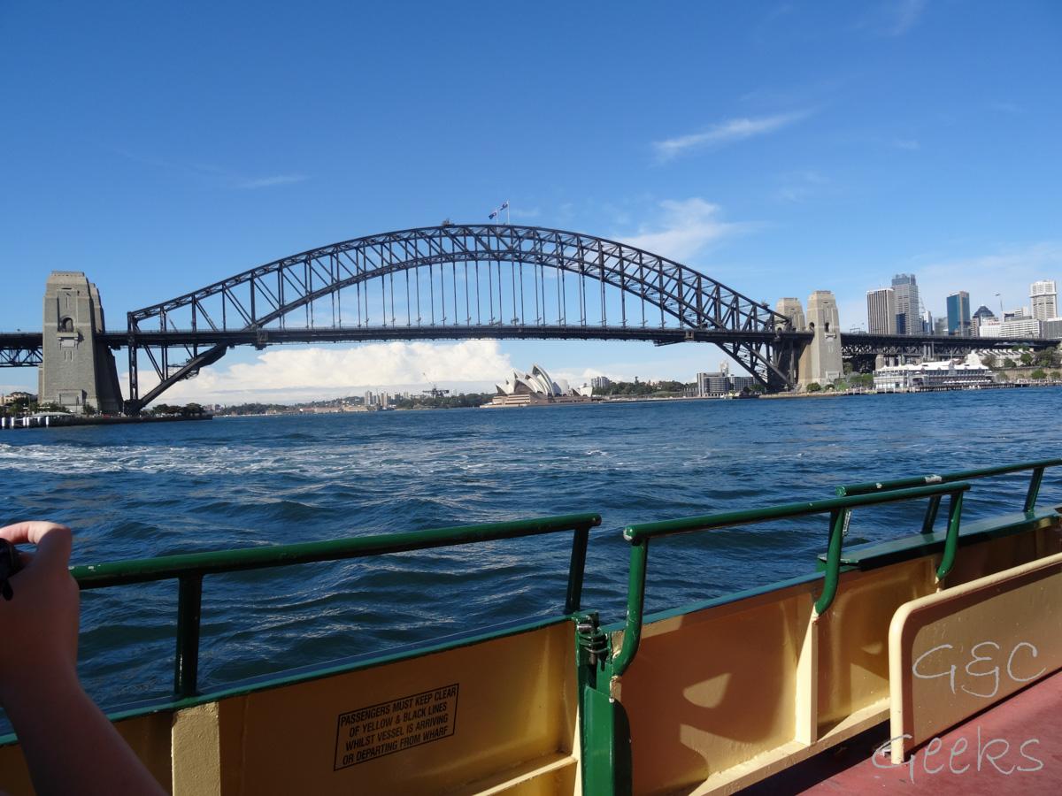 harbour bridge ferry