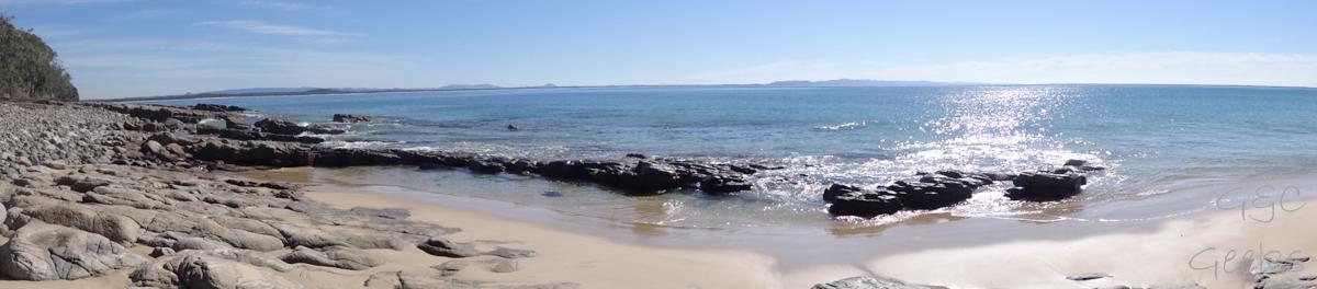 panorama bord de mer noosa