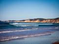 coloured sand cliffs rainbow beach