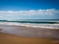 mer dans le sable rainbow beach